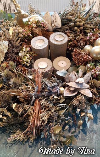 Nahaufnahme Kranz Advent