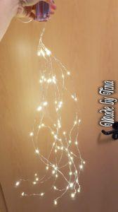 Lichterkette für Türkranz