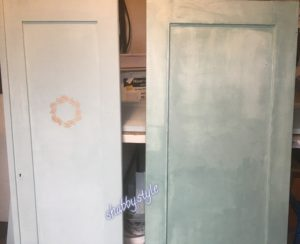 Kreidefarbe versiegeln - falsches Wachs